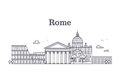 Italy Rome Architecture, Europ...