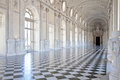 Italy - Royal Palace: Galleria di Diana, Venaria Stock Photography