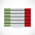 Italy siding produce business company icon illustration Royalty Free Stock Photo