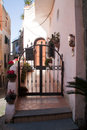 Italy-typical Mediterranean house Stock Images