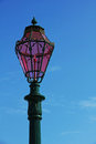 Italy venice lantern pink in punta della dogana Royalty Free Stock Photos