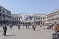 Italy venice san marco square piazza san marco often known in english as st mark s is the principal public of where it is Stock Photography