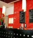 Italy wine-bar Royalty Free Stock Photo