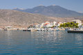Itea Port, Greece Stock Photo
