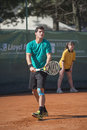 Itf future tennis tournament vercelli alberto brizzi winner in Stock Photography