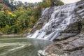 Ithaca Falls & Fall Creek Swirls Royalty Free Stock Photo