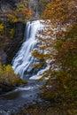 Ithaca Falls - Ithaca, New York Royalty Free Stock Photo