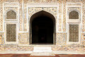 Itmad-ud-Daula's Tomb is a Mughal mausoleum. Stock Images