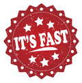 Its fast red stamp