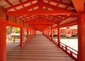 Itsukushima Shrine Stock Photo