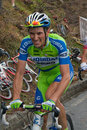 Ivan Basso - Mortirolo Stock Photos