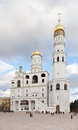 Ivan the great bell architectural complex of tower located on southwest side of cathedral square of moscow kremlin Royalty Free Stock Image