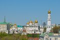 The ivan the great bell tower the archangel s cathedral kremli kremlin moscow russia red square moscow st basil built by Stock Photo