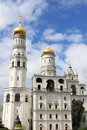 Ivan the great bell tower and assumption belfry in moscow kremlin russia Royalty Free Stock Image