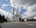 Ivan the great bell tower complex moscow kremlin russia Royalty Free Stock Photos