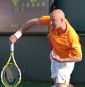 Ivan LJUBICIC at the 2009 BNP Paribas Open Royalty Free Stock Images
