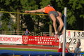 Ivan Ukhov, high jump Royalty Free Stock Photo