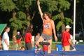 Ivan Ukhov, high jump Royalty Free Stock Photo