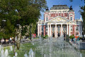 Ivan vazov national theatre is bulgaria s national theatre the oldest and most authoritative theatre in bulgaria sofia july Royalty Free Stock Photos