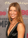 Ivana milicevic statuesque beauty a sarajevo born ethnic croatian actress arrives on the red carpet for the new york city premiere Stock Photography