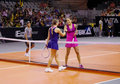 Ivanovic defeats Pavlyuchenkova Royalty Free Stock Photography