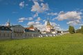 Iversky monastery russian orthodox church in valdai russia Royalty Free Stock Images
