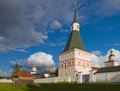 Iversky monastery russian orthodox church in valdai russia Royalty Free Stock Photography