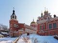 Iversky monastery in Samara, Russia Stock Photos