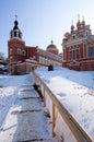Iversky monastery in Samara, Russia. Royalty Free Stock Photos