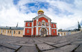 Iversky monastery in valdai russia russian orthodox church was built Stock Photography
