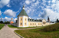 Iversky monastery in valday russia russian orthodox church Royalty Free Stock Image