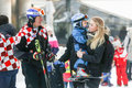 Ivica and Elin Kostelic with son