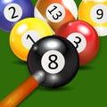 Ivories, Billiard Balls Background