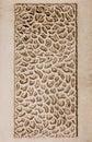 Ivory Grunge Stone Texture Background With Holes