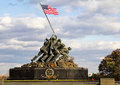 Iwo Jima Memorial Royalty Free Stock Photography