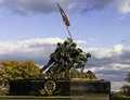 Iwo jima memorial wash dc circa nov nov usa dedicated to all personnel of united states marine corps who have died in Royalty Free Stock Photo
