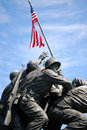 Iwo Jima Monument 3 Stock Photos