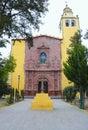 Convent in Ixmiquilpan hidalgo, mexico VIII Royalty Free Stock Photo