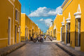 Izamal, the yellow colonial city of Yucatan, Mexico Royalty Free Stock Photo