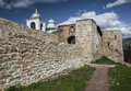 The Izborsk Fortress. Royalty Free Stock Photo