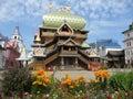 Izmaylovskiy Kremlin in Moscow Russia Royalty Free Stock Photo