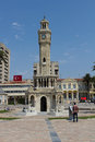 Izmir clock tower izmir saat kulesi Royalty Free Stock Photography