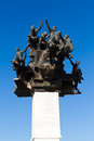 Izmir Gundogdu monument Royaltyfri Bild