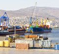 Izmir port at alsancak turkey september Stock Images