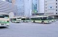 Júnior osaka station bus terminal japan Foto de Stock Royalty Free