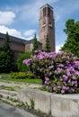 Jablonec nad nisou czech republic modern church nejsvětějšího srdce ježíšova in town in jizerske hory northern bohemia Royalty Free Stock Images
