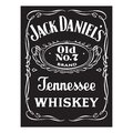 Jack Daniels whiskey logo editorial illustration Royalty Free Stock Photo