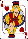 Jack Of Hearts Royalty Free Stock Images
