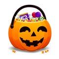 Jack O Lantern Full Of Candy