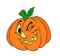 Jack O Lantern Halloween Pumpkin Stock Photo